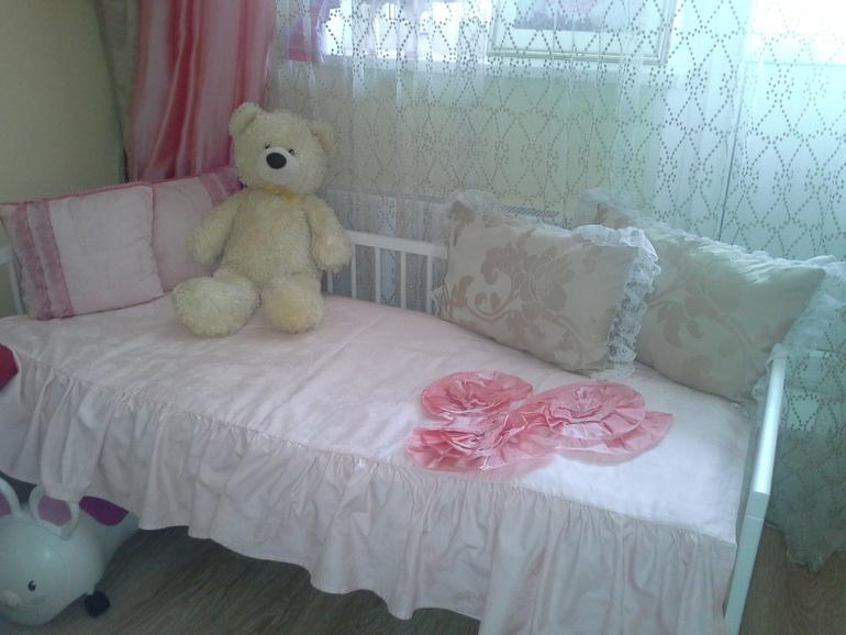 покрывало на детскую кровать фото