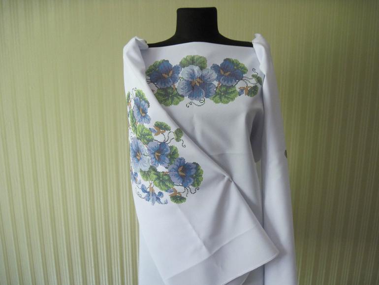 СП заготовок сорочек и платья для вышивки бисером или крестиком ... 80c2797b0c4f6