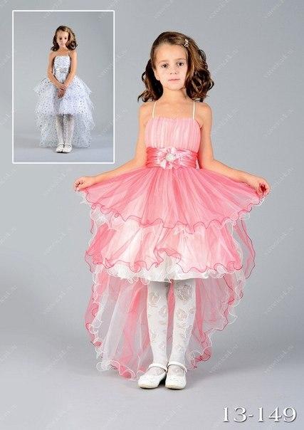 Крутые детские платья