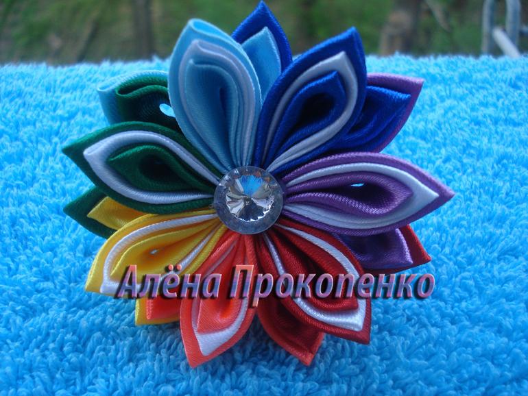 Продам канзаши - Роскошные украшения ручной работы для милых девушек и малышек. Будьте оригинальны!