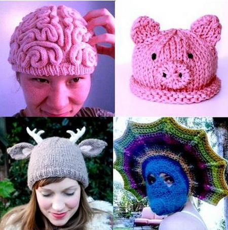 смешные шапки схемы