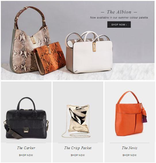 Новая  коллекция  сумок  от  Anya  Hindmarch