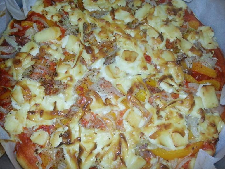 Тесто быстрая пицца на соде рецепт