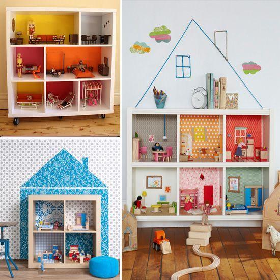 Детский кукольный домик своими руками фото