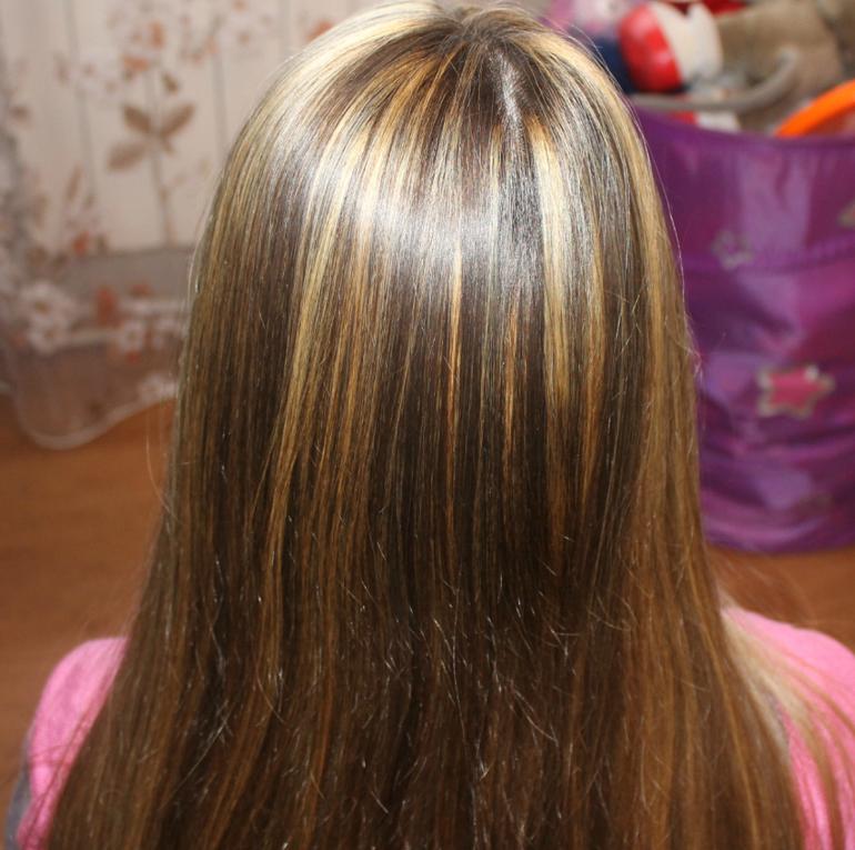 Мелирование волос дома фото
