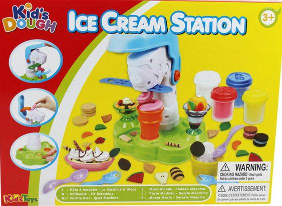 Фабрика мороженого пластелин