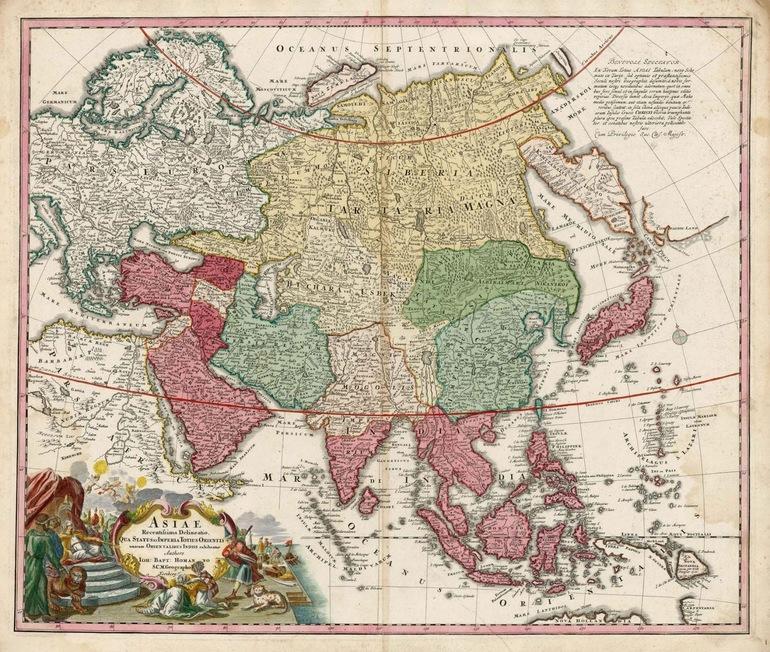 Азия. Средние века.