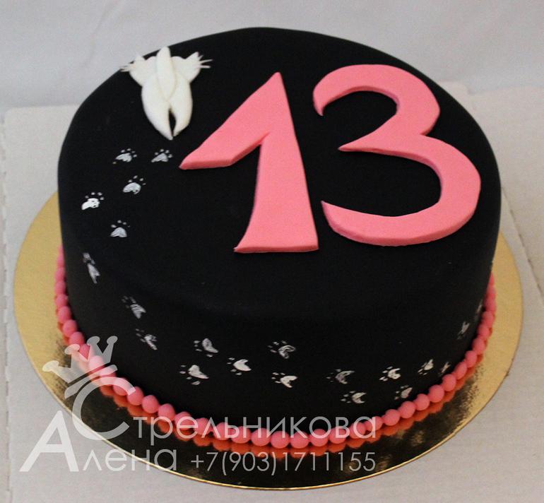 Торт на 13 лет мальчику своими руками 23