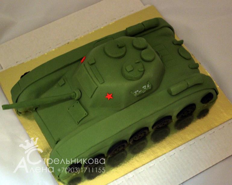 Торты из мастики своими руками танк 894
