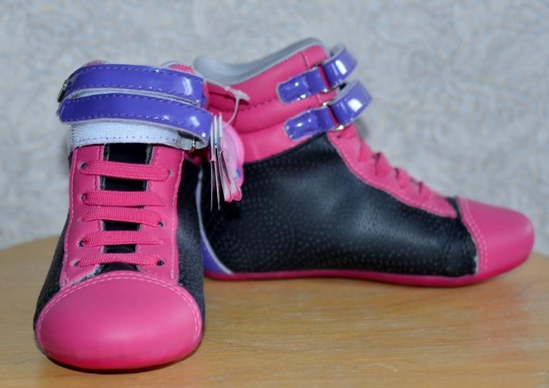 Ботиночки  PAMPILI  для  девочки  (кожа)  27  размер  16,5  см-1900