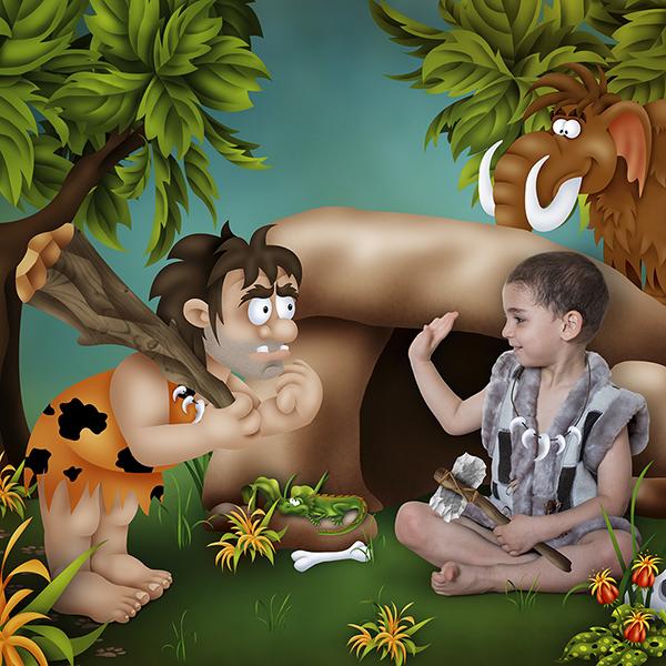 Prehistoric  World  by  Lissa  Designs