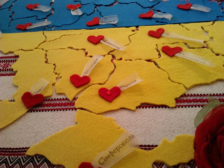 Карта украина своими руками 589