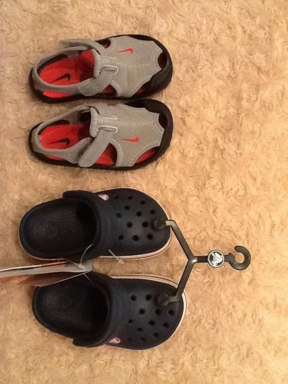 Crocs на годовасика