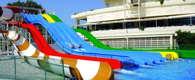 LOUIS CRETA PRINCESS 4*! Семейная Греция! Аквапарк для деток и взрослых!