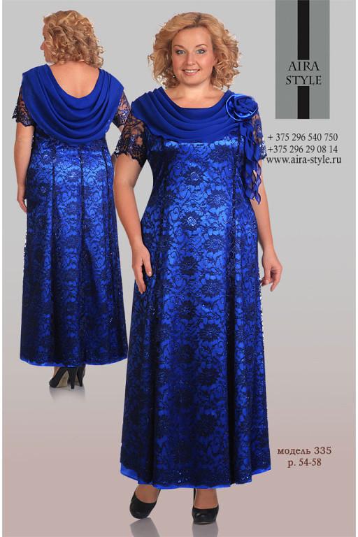 Фото модели платья больших размеров