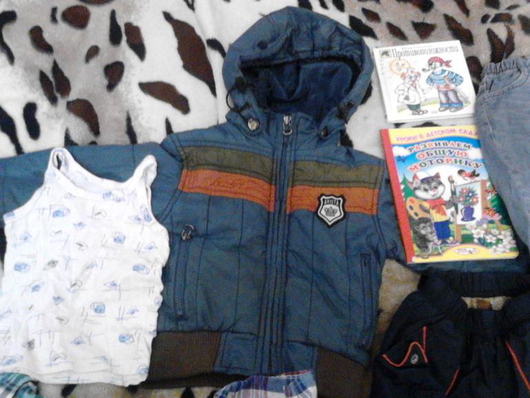 отдам даром пакетик вещей для мальчика на рост 92-98 ( ВСЕ НЕДОСТАТКИ ВИДНЫ)