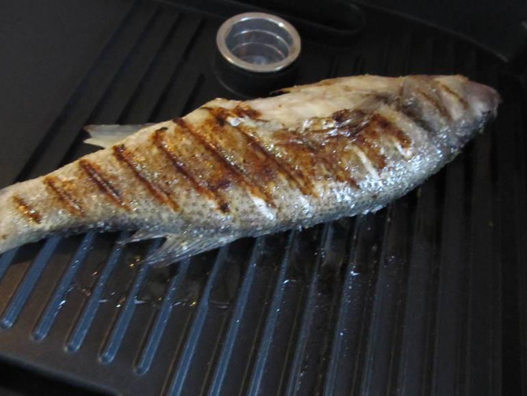 Рецепт сибаса на сковороде с фото