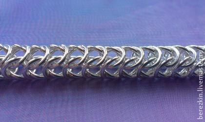 Цепочки и браслеты из серебра