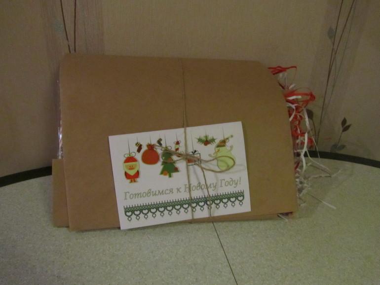 Готовимся к Новому Году (коробочка от АистБокс за декабрь 2013)