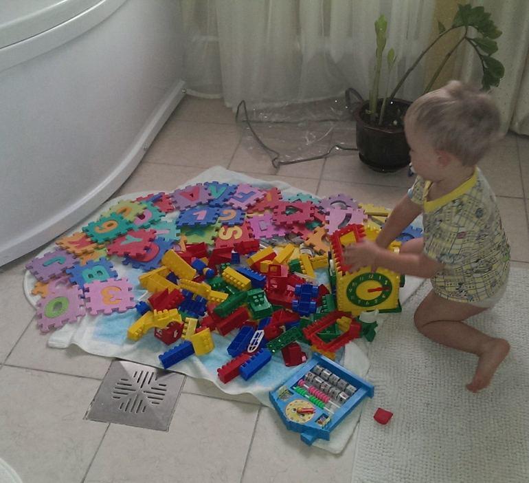 Намываем игрухи