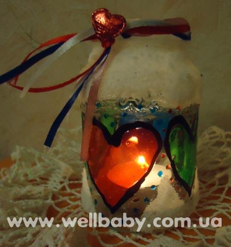 Подарочки на 14 февраля! 2-я жизнь баночки из-под детского питания!Для вдохновения: