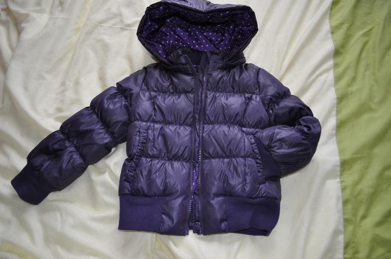 куртка на пуху benetton ростовка 90 см