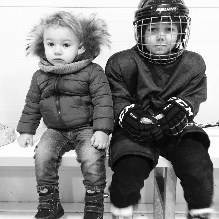 Платон  и  хоккей.  2  месяца  тренировок.