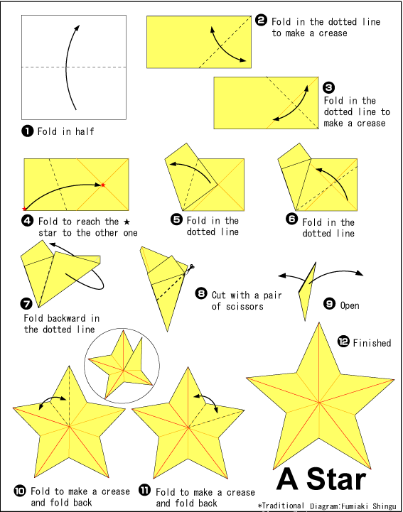 Пятиконечная звезда своими руками