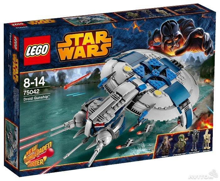 Lego Star Wars (Звездные войны) 75042 (D. Gunship) - 1 800 руб.