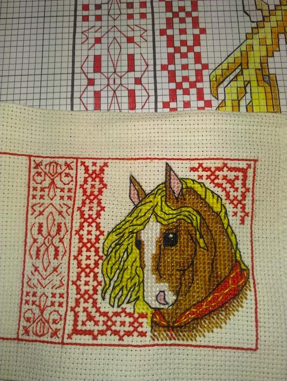 Как начертить схему вышивки