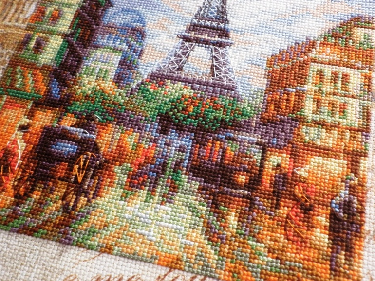 Города мира схемы вышивки крестом