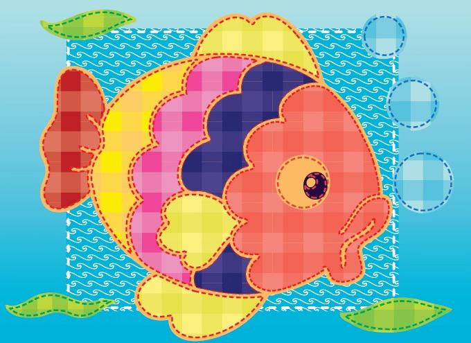 Аппликации из ткани картинки