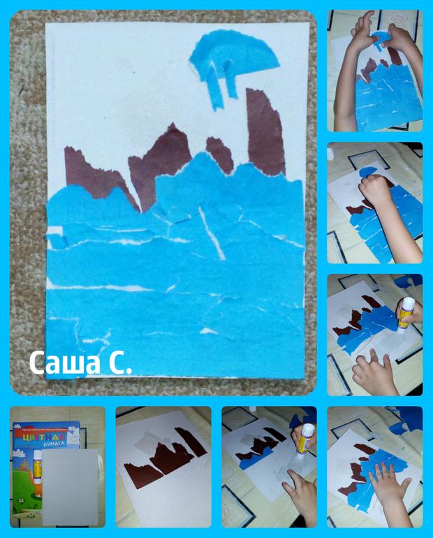 Детские поделки на бумаги
