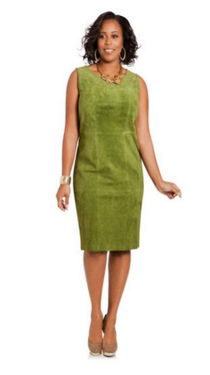 Сшить платье из искусственной замши