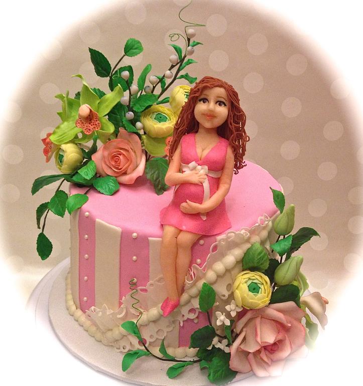 Baby Shower торт