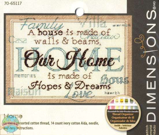 "Ищу схему вышивки ""Our Home"""