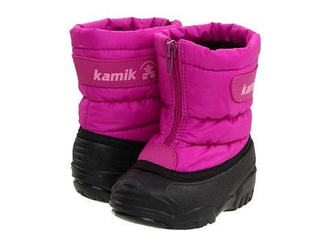 Сапожки  на  девочку  Kamik  размер  8