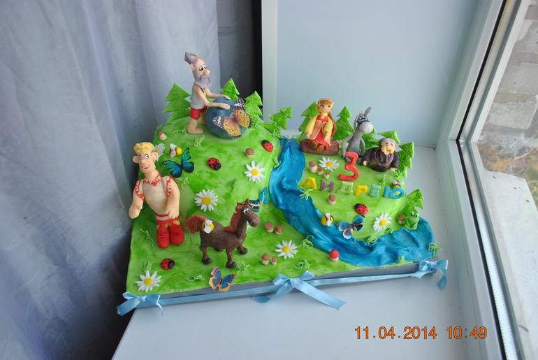 Торт с алешей поповичем фото