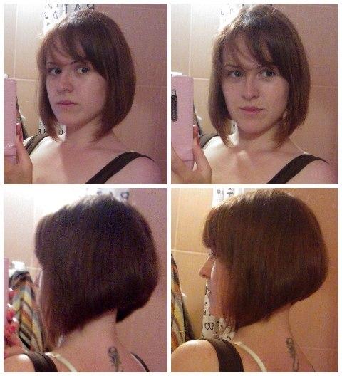 Как подстричь в домашних условиях под каре
