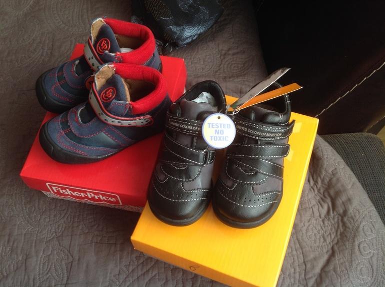 Новые ботиночки 22 размера