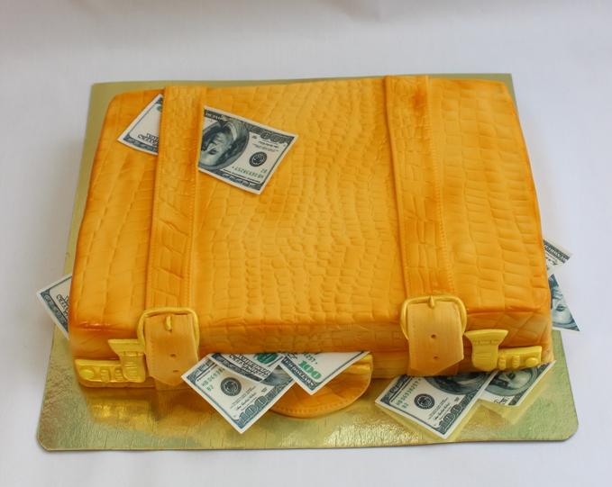 Торт Чемодан С Деньгами Купить В Москве