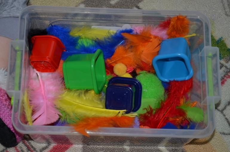 Сенсонсорная коробочка