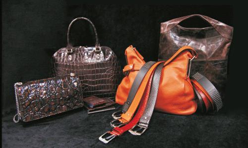 Коллекция кожанных сумок