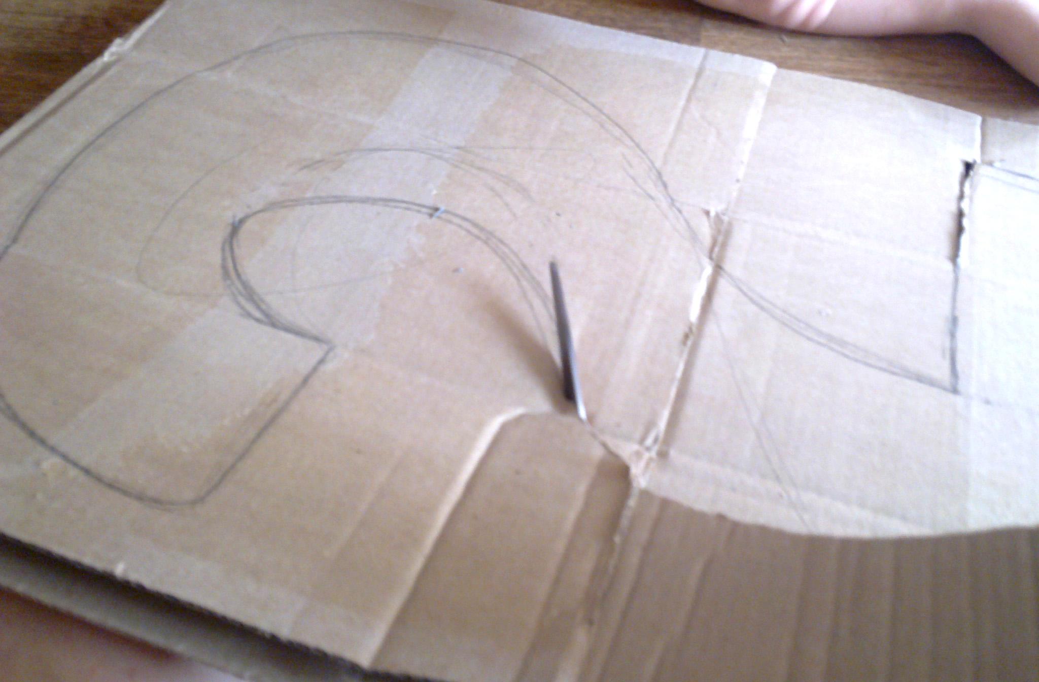 Цифра 2 из картона своими руками размеры 63