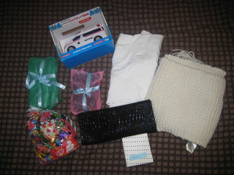 Подарочки из Японии от Леночки)