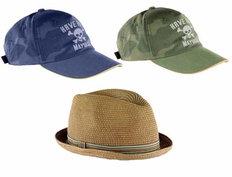 Mayoral новая коллекция весна лето Кепки, шляпы