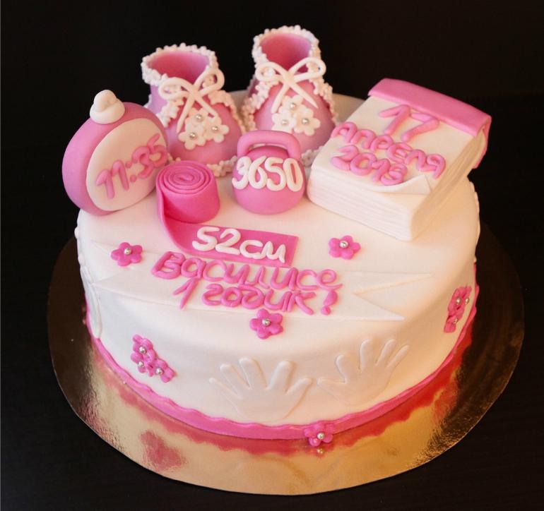 Торт на 1 годик.