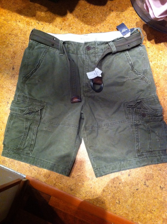Новые шорты Abercrombie