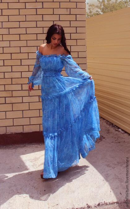 Как сшить платье в крестьянском стиле 22