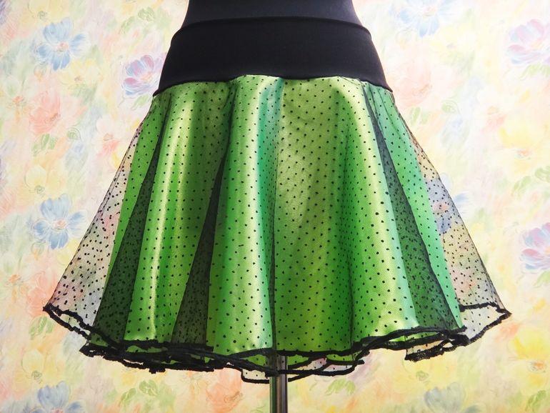 Как сшить юбку из креп сатина